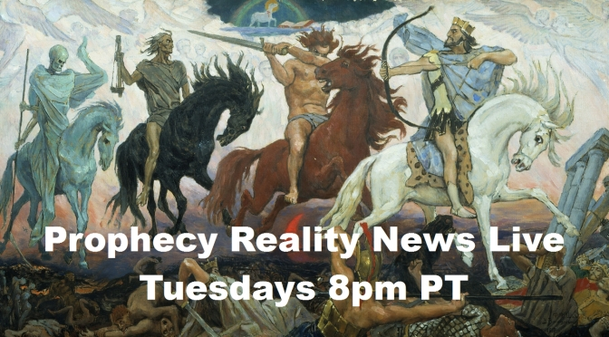 Prophecy Reality News Live with Tom Friess – Anti-Christ celebrates 500 yrs. of Reformation?
